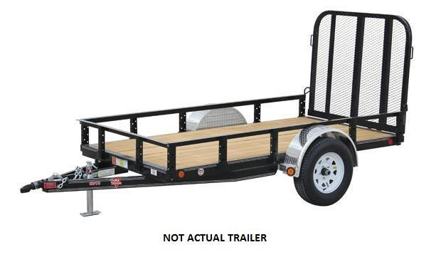 2018 PJ Trailers 60 in. Single Axle Channel Utility (U6)