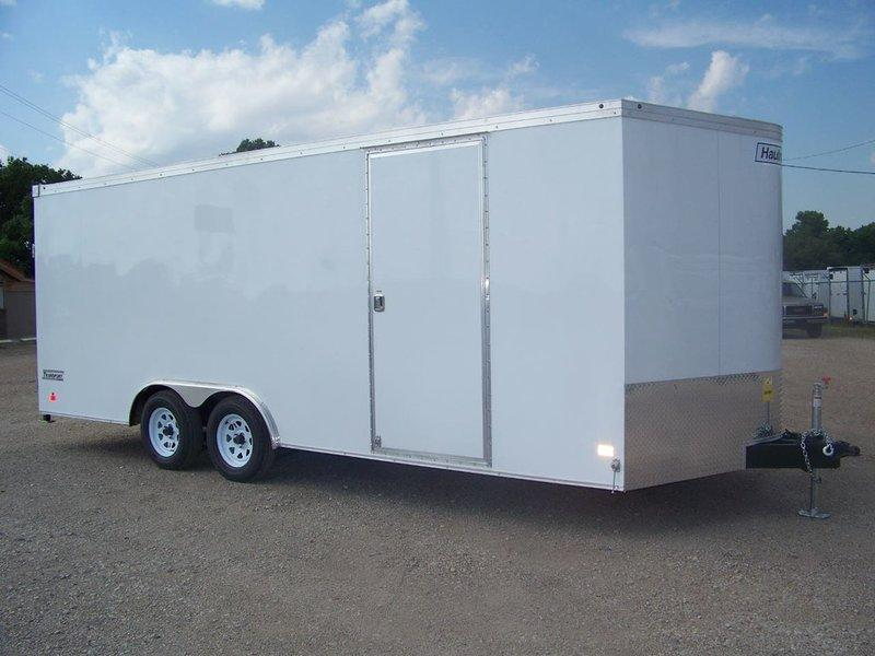 2017 Haulmark Transport 8.5x20 V-Nose Car / Racing Trailer