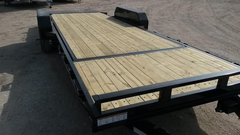 2019 Sure-Trac 7x18+4 Tilt Equipment Trailer 14k
