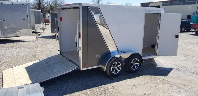 2019 R and R Trailers 7x12 FE All Aluminum Enclosed Cargo Trailer Enclosed Cargo Trailer