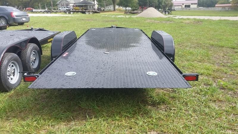"""2019 Kwik Load 7x18 Steel """"Rollback"""" Car Hauler 7K"""