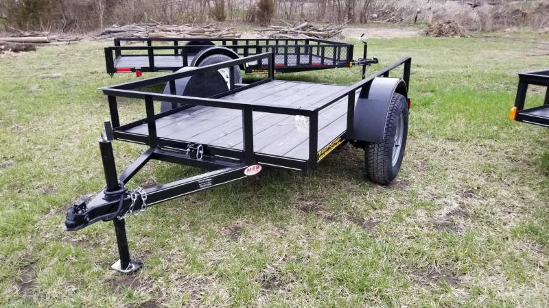 2018 M.E.B 5x10 Tilt Utility Trailer w/Board Holders 3.5k
