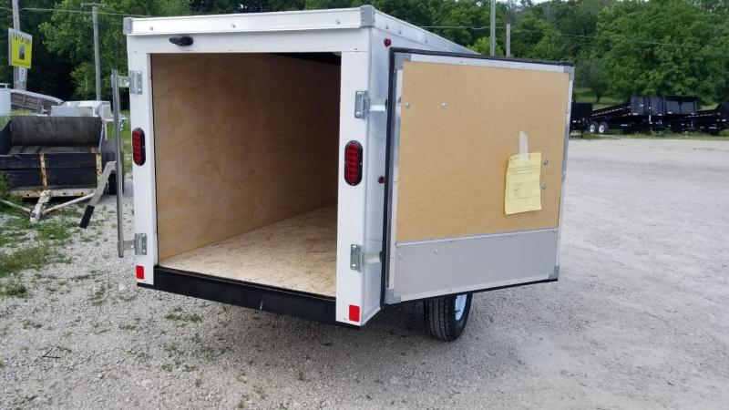 2019 Interstate 4x8 SF Enclosed Cargo Trailer 2k