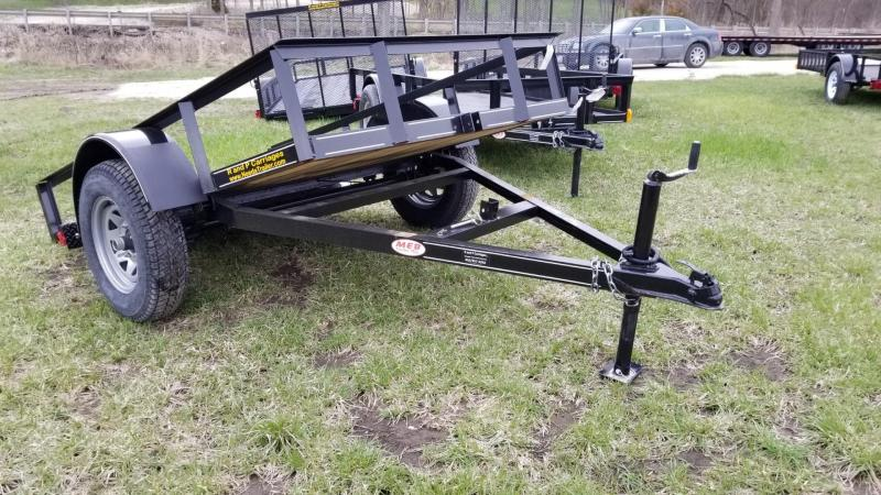 2019 M.E.B 5x10 Tilt Utility Trailer w/Board Holders 3k