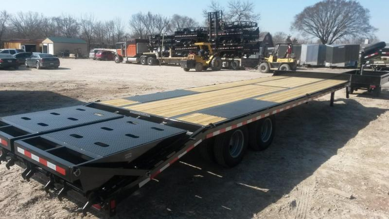 2019 Sure-Trac 8.5x20+5 Heavy Duty Equipment Trailer w/Full Width Ramps 20k