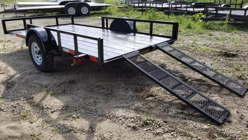 2019 M.E.B 6.4x12 Angle Iron ATV/Utility Trailer 3k