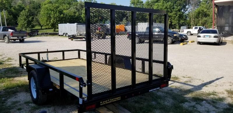 2019 Sure-Trac 6x12 Tube Top Utility w/Fold Flat Gate 3k