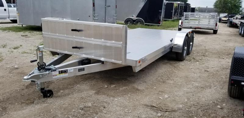 2019 R&R 7x20 All Aluminum Open Car Hauler 10k