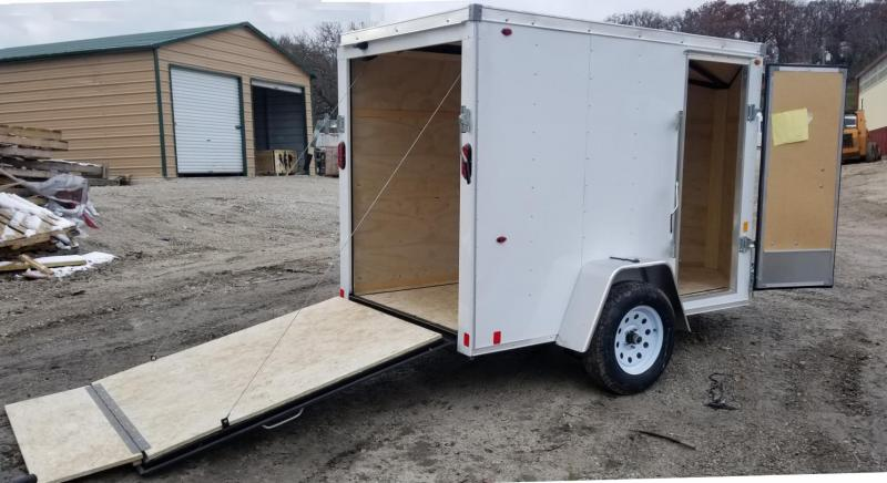 2019 Interstate 5x8 SFC Cargo Trailer 3k