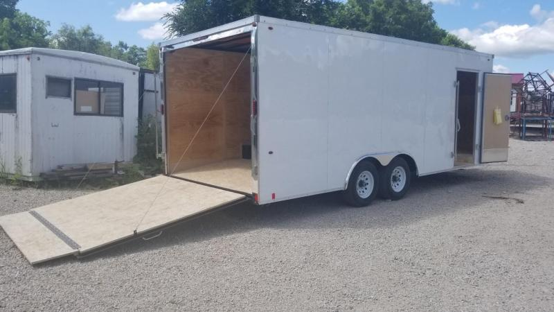 2020 Interstate 8.5x20 SFC Steel Enclosed Car Hauler Trailer 10k