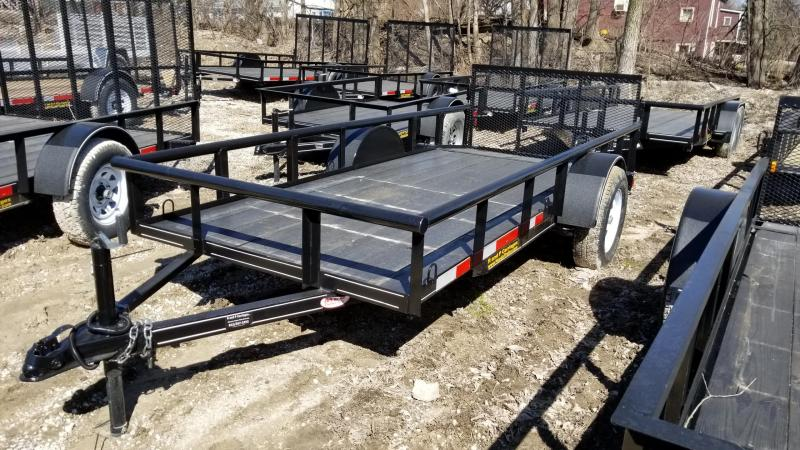 2018 M.E.B 5x12 Utility Piperail w/Gate 3.5k