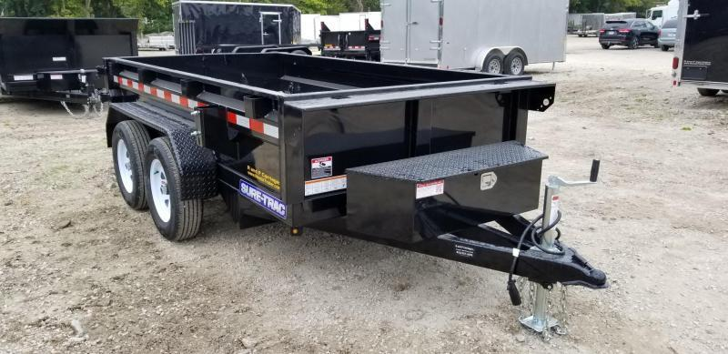 2020 Sure-Trac 62x10 Single Ram Dump w/Barn Doors 7k
