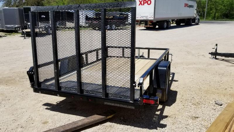 2019 Sure-Trac 6x10 Tube Top Utility w/Fold Flat Gate 3k