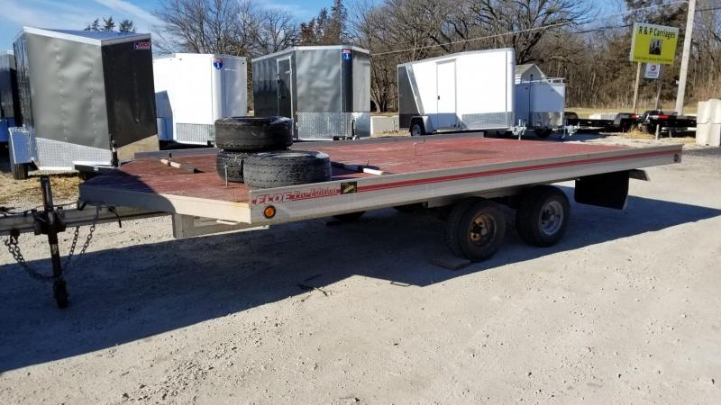 1994 Floe 8x14 Open Snowmobile Trailer 3k