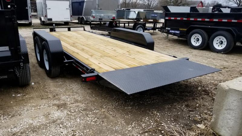 2018 Sure-Trac 7x18 Tilt Equipment Trailer 14k