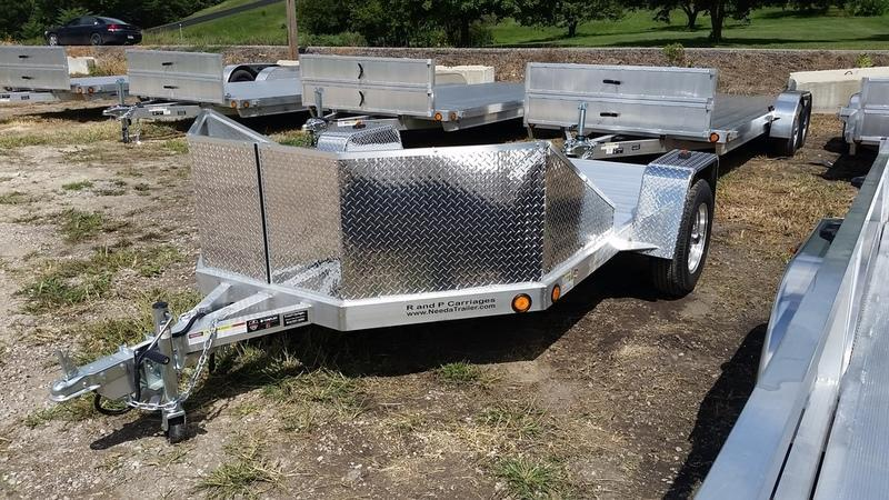 2019 R&R OMC3 Motorcycle Trailer w/Slide Out Ramps 3k