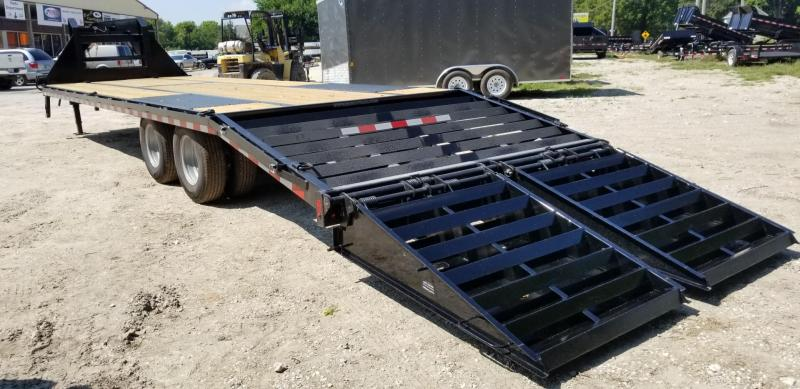 2019 Sure-Trac 8.5x255 Deckover Gooseneck Equipment Trailer 20k