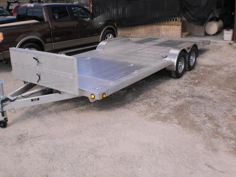2018 R&R 7x22 C-Channel ALUMINUM Car Hauler 10k
