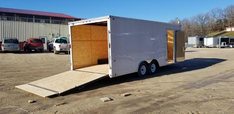 2019 Interstate 8x20 SFC Steel Enclosed Trailer 7k