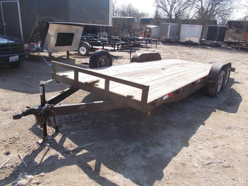 RENTAL #13 7x18 M.E.B Car Hauler