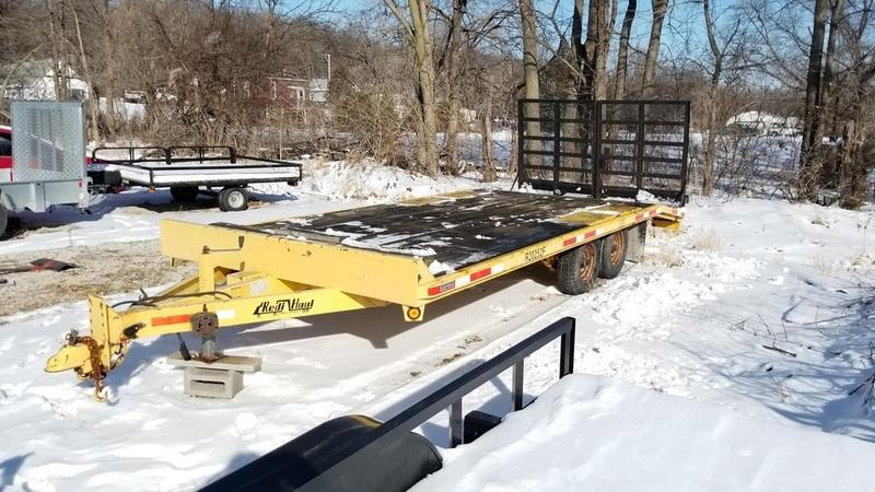 2000 Redi Haul 8.5x16+4 Equipment w/Split Ramps 10K