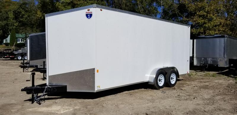 2019 Interstate 7x18 SFC Enclosed Cargo Trailer 7k