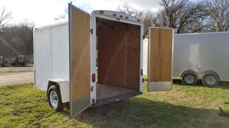 1998 Interstate 6x12 IFC Enclosed Cargo Trailer 3K