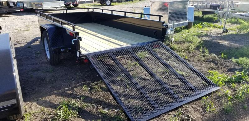 2019 Sure-Trac 5x10 Steel High Side Utility Trailer 3k
