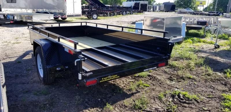 2020 Sure-Trac 5x10 Steel High Side Utility Trailer 3k