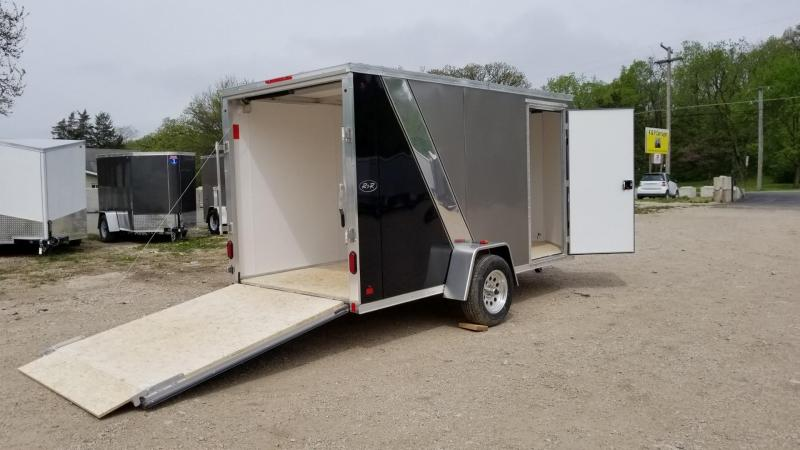 2018 R&R 6x12 FE Enclosed Cargo Trailer 3k