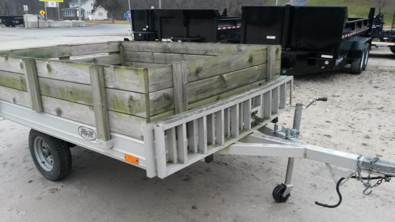2000 R & R 68QT Snowmobile Utility Trailer 3K
