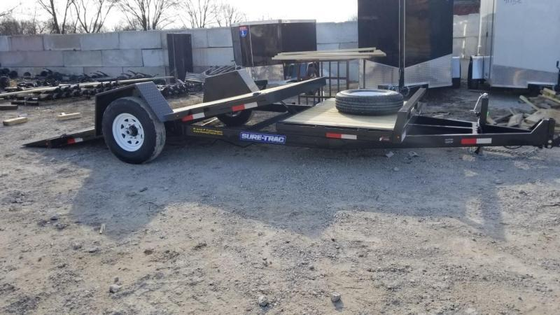 2018 Sure-Trac 78x12+4 Tilt Bed Equipment Trailer 7.8k
