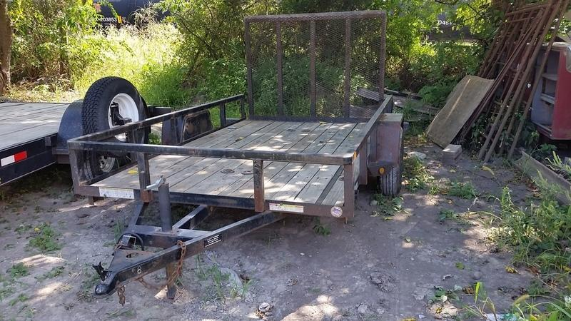 RENTAL #8 6x10 Sure-Trac Utility Trailer w/Gate