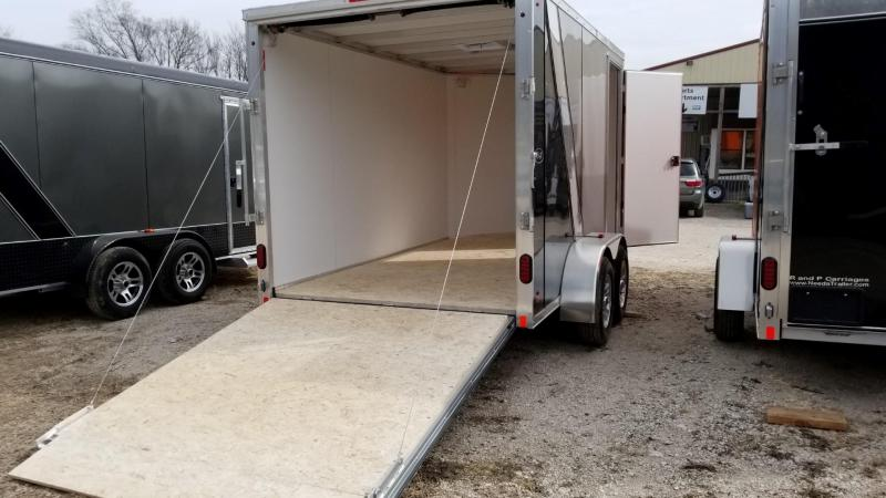 2019 R&R Trailers 7x12 FE All Aluminum Enclosed Cargo Trailer 7k