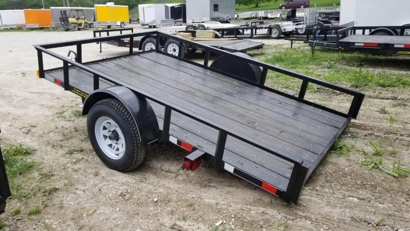 2018 M.E.B. 6.4x10 Tilt Utility Trailer w/Board Holders 3k