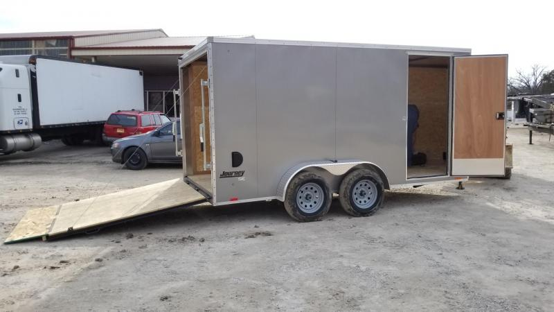 2018 Pace 7x14 JV Cargo Enclosed Trailer 7k