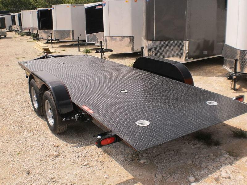 2018 Kwik Load 7x20 SDX Steel Deck Car Hauler 7K