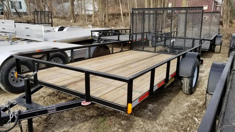 2018 M.E.B 6.4x12 Piperail Utility w/Ramp & Treated Deck 3k