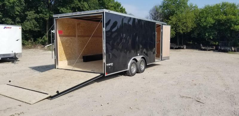 2019 Stealth 8.5x20 Enclosed Car Hauler Trailer 7k