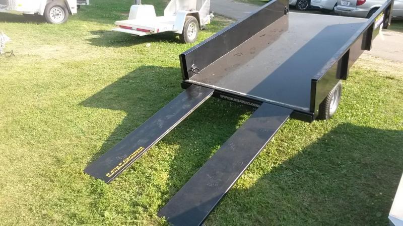 2018 Sure-Trac 4.5x8 Utility Dump 3k