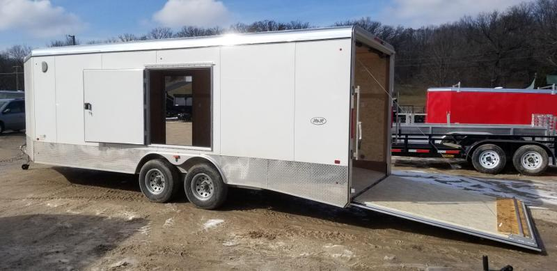 2019 R&R 8x20 VCH All Aluminum Enclosed Car Hauler 10k