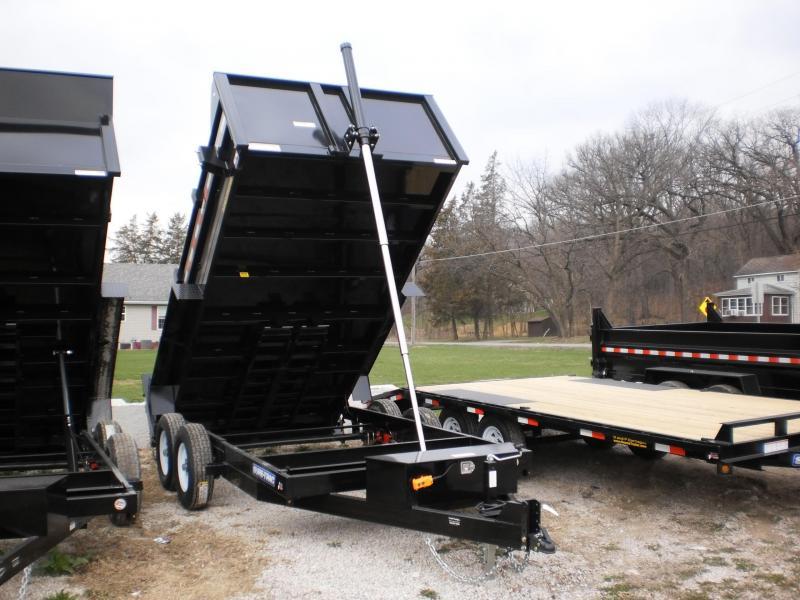 2020 Sure-Trac 82x14 Telescopic Dump Trailer 14k