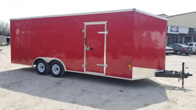 FOR RENT ONLY #12 8.5x20 Interstate Enclosed Car Hauler