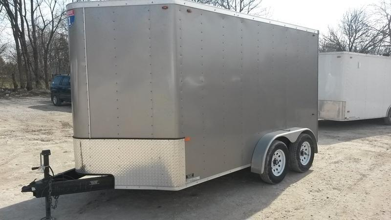 2015 Interstate 7X12 RENTAL Enclosed Cargo Trailer