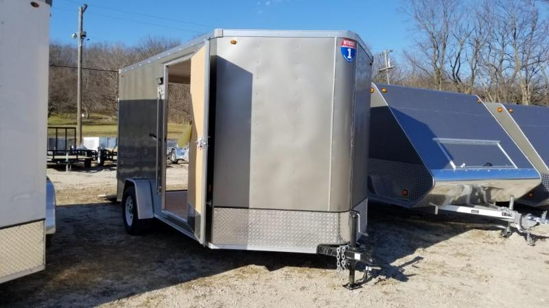 2018 Interstate 7x12 SFC Cargo Trailer 3K