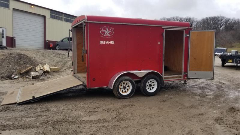 2006 United Trailers 7x12 Cargo Enclosed Cargo Trailer