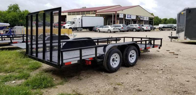 2019 M.E.B 77x16 Utility Trailer w/Gate and Brake 7k