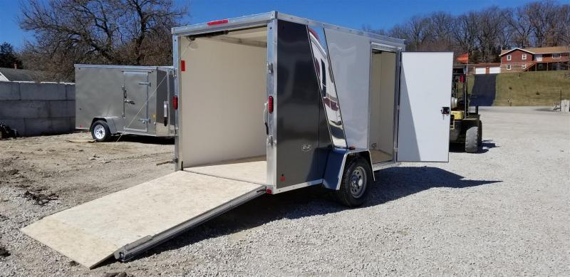 2019 R&R 6x12 Force Elite All Aluminum Enclosed Cargo Trailer 3k