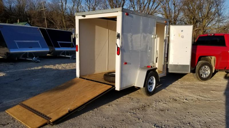 2012 Interstate 5x8 SFC Cargo Enclosed Cargo Trailer