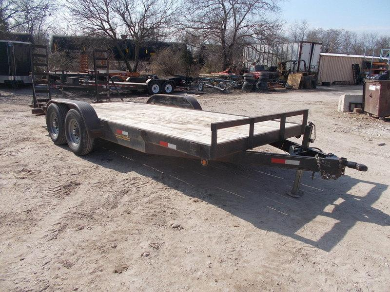 2013 MEB 7X18 RENTAL Equipment Trailer
